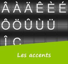 Seules les voyelles (a,e,i,u) peuvent porter un accent. Il existe 3 accents dans la langue française : l'accent aigu, l'accent grave et l'accent circonflexe. Un accent peut changer la prononciation de la lettre mais pas toujours. Sur la lettre e, le son est modifié par l'accent. Si le e est placé devant une consonne doublée, le e ne porte pas d'accent.