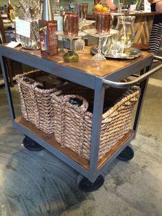 Vintage Bar Cart by RaiseTheBarOC on Etsy