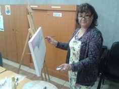 Rebeca Castro ¡Bienvenida al Taller de Pintura, Grupo Macul!