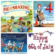 ‪Delighted to introduce a new monthly feature w/local bookstore Once Upon a Time that we call What We're Reading — Wednesdays w/Once Upon a Time. Today they're sharing #july4th themed books and others ideal for the celebrations including Pie is for Sharing.  #kidlit #IndependenceDay  #ushistory #revolutionarywar #july4 #kidsbooks #childrensbooks  #declarationofindependence #americanholiday                      wp.me/p3X25n-7EZ‬