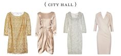 city hall wedding gowns!