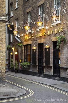 Wine bar - near Trafalgar Square - London