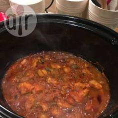 Recipe photo: Chicken Jalfrezi slow cooker