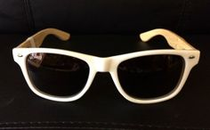 Silvano Watches | ... Accessories / Sunglasses And Watches / Silvano White Wooden Sunglasses