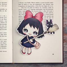 Inspired by Kiki  limited edition bookmark by ribonitachocolat