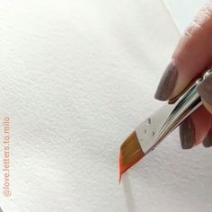 Watercolor Painting Tutorial Draw Paint #Watercolor By love.letters.to.milo