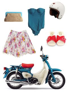 LOL.. only so many things are need to 'match' my Super Cub.  OF COURSE, beach attire....