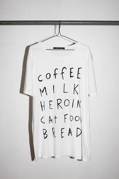 shoppinglist/snack ideas/great tee all tied into one