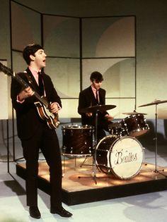 The Beatles appear on The Ed Sullian Show