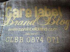 """Jeans """"Care Label"""" password CLBB 0874 071"""