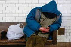 Americans, their physicians should take sleep seriously: chest doctors A man sleeps on a seat at the Borough Hall subway station in the Brooklyn borough of New York February 10, 2015. REUTERS/Shannon Stapleton