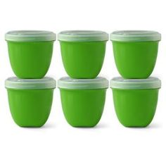 These work great as lunch containers for kids, sturdy, easy to open, they don't leak, they aren't too expensive, and they're made of recycled materials.