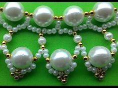 Very Simple Handmade Beaded Necklace | Youtube - YouTube