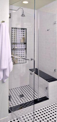 Vintage-inspired master bathroom | Interior Designer: Carla Aston / Photographe... - http://whitetiles.info/vintage-inspired-master-bathroom-interior-designer-carla-aston-photographe.html #bathroominteriordesign