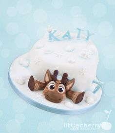 Baby Sven Frozen Cake