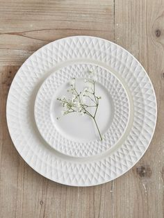 EVA Plates - Nordic House Stylish dinner sets, perfect for any gift list. #tableware #wedding #gifts