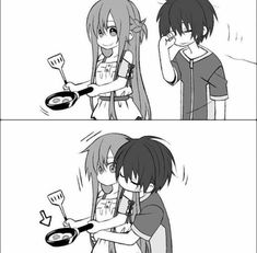 Kirito and Asuna Me Anime, Anime Couples Manga, Anime Love, Anime Manga, Kirito Asuna, Online Anime, Online Art, Yui Sword Art Online, Anime Sword