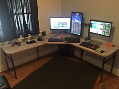 46 best diy computer desk images diy computer desk corner desk rh pinterest com
