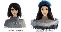 Arya and Lyanna