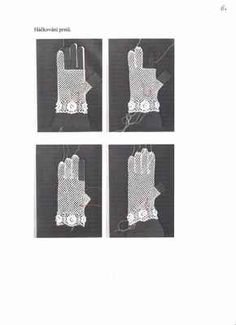 Háčkované krajkové rukavičky – hluzdionv – album na Rajčeti Hand Knitting, Tarot, Gloves, Engagement Rings, Crochet, Jewelry, Crochet Gloves, Mittens, Crochet Jacket