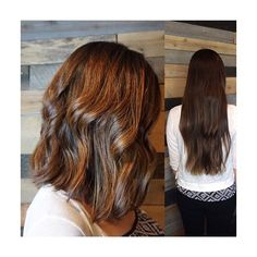 We love a good #hairtransformation! #longhairtoshorthair #colormebykm #texturedwaves #kevinmurphyhair #azhair #azstylist #savantesalon