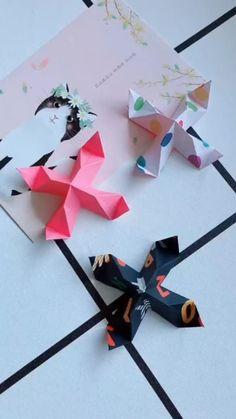 Diy Crafts Hacks, Diy Crafts For Gifts, Diy Crafts Videos, Fun Crafts, Creative Crafts, Paper Crafts Origami, Paper Crafts For Kids, Diy Paper, Toilet Paper Origami