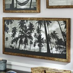 Black And White Surf Prints | downstairs family room