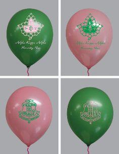 AKA pink and green balloons