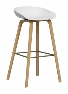 Hay: About a Stool barkruk - possibly for kitchen bar? Küchen Design, House Design, Contemporary Bar Stools, Designer Bar Stools, Chaise Bar, Kitchen Stools, Bar Chairs, Room Chairs, Dining Chairs