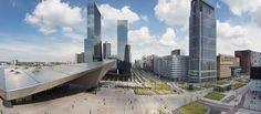 Rotterdam- Kruisplein met centraal station