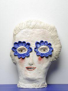 Claire Loder's Intriguingly Strange Ceramic Heads