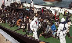 Nigerian Muslims threw Christian refugees off dinghy in Mediterranean - note:  Obama had no comment on this.