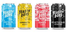 Craft Beer Bar Lager Lagerwill be hosting the German release of the new Yeastie Boys cans this Saturday in store.   Available for sale will be:   Big Mouth Session IPA   Gunnamatta Earl Grey IPA   Digital IPA   Pot Kettle Black Porter   Breaking onto the scene in 2009 in New Zealand with their 'Po