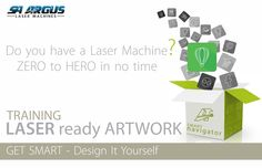 An easy, step-by-step practical training course. Only focusing on  design for Lasers. Don't pay for artwork - create your own masterpieces.  Contact Natalie for more information: natalie@sa-argus.co.za  WATCH THIS SPACE . . . SNEAK PEAK TRAINING COURSE VIDEOS to FOLLOW!  Let's get Smart, let's get Started . . . Laser Machine, Watch This Space, Smart Design, Training Courses, Get Started, Create Your Own, Let It Be, Videos, Easy