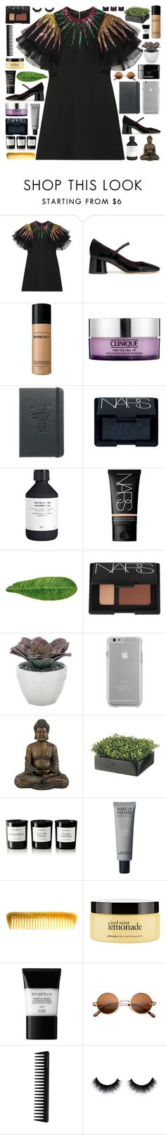 """""""Back To You"""" by pure-and-valuable ❤ liked on Polyvore featuring Gucci, Marc Jacobs, Bare Escentuals, Clinique, NARS Cosmetics, H&M, Abyss & Habidecor, Torre & Tagus, Case-Mate and Byredo"""