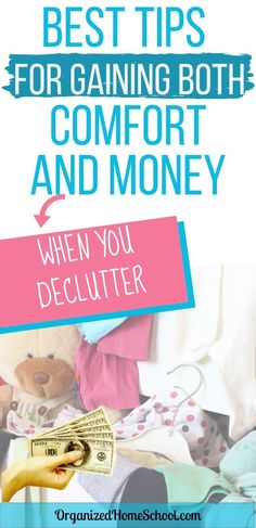 Declutter your home and make some cash while you're at it with these tips for decluttering. Use these apps and tricks for decluttering your home. Study Desk Organization, Bathroom Drawer Organization, Kids Bedroom Organization, Towel Organization, Organizing Paperwork, Garage Organization, Organization Ideas, Ikea Cupboards, Declutter Bedroom