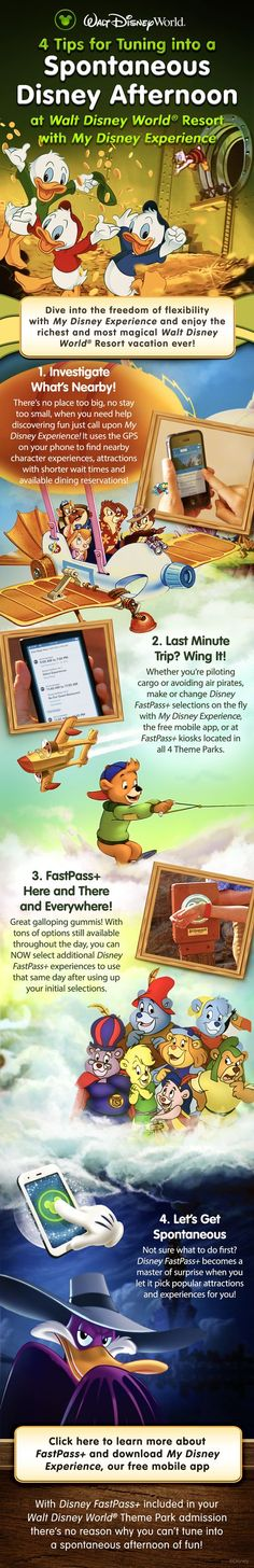 Tips for a last minute Walt Disney World vacation! Learn about FastPass+ and My Disney Experience.  Our Laughing Place Travel is ready to help you plan a magical Disney vacation because at OLP Travel, we put the Pixie Dust in Concierge Service!!  #olptravel