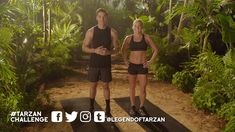 Surviving in Tarzan's jungle takes skill and stamina. Test your limits with the Challenge yourself with 6 weeks of Tarzan-inspired workouts. 10 Day Workouts, Tarzan, Get In Shape, Feel Good, Fitness Motivation, Challenges, Feelings, Health, Youtube