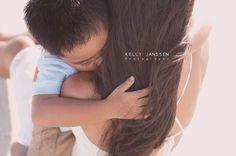 Anna Maria Island Photographer  mother and son on beach