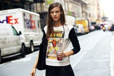 Lucky Magazine Street Style Fashion-Week-Street-Style-Z-100