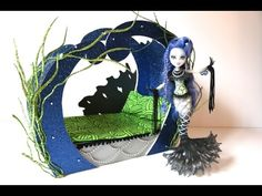 How to make a Sirena Von Boo Doll Bed Tutorial - Monster High. In this video I show you how to make a doll bed inspired by the Sirena Von Boo character from ...