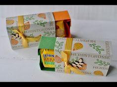 Tutorial: Matchbox für Butterkekse mit Stampin' Up! - YouTube