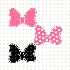 Minnie Mouse Bow, Cute Bows, Cricut, Disney Characters, Unique Jewelry, Handmade Gifts, Vintage, Etsy, Art