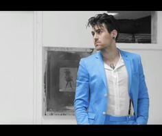 He looks too good in blue. <3<3<3
