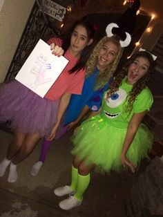 Monster inc costume!