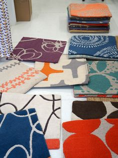 Surya rugs are bright and can easily refresh any room!
