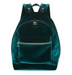 Avril Velvet Backpack | 43 Super Cool Backpacks For Grownups