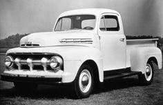 1951 Ford Pick up. Ford Serie F, Ford F Series, 1951 Ford Truck, Ford Pickup Trucks, Chevy Trucks, Vintage Trucks, Old Trucks, Pick Up, Ford F1