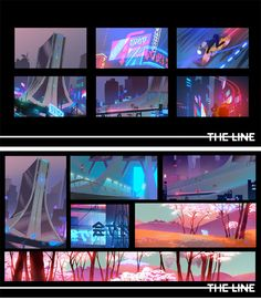 Easy-img2 Environment Concept Art, Environment Design, Concept Art Tutorial, Color Script, Composition, Landscape Concept, Keys Art, Matte Painting, Traditional Paintings