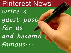Pinterest News Guest Blog